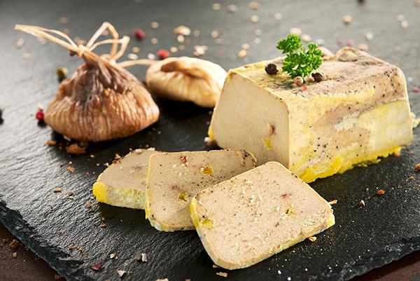foie gras de canard au sel de guérande