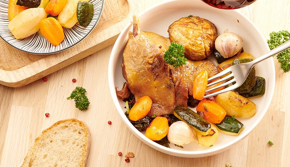 recette de confit de canard