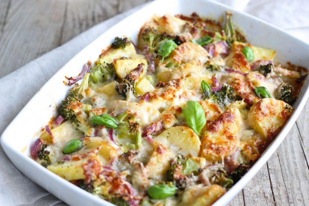 recette de gratin de topinambour au brocoli