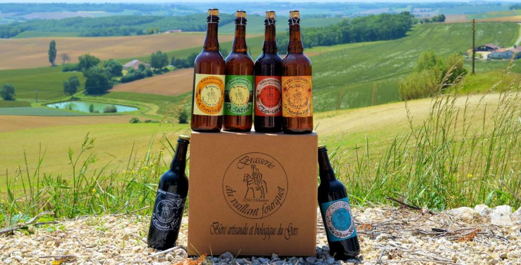 acheter de la bière du Gers, La Brasserie du Vaillant Fourquet