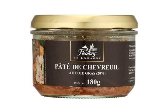 prootion pâté de chevreuil et foie gras