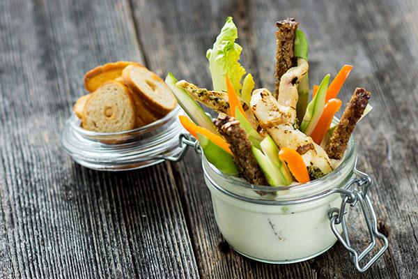 recette de légumes à dipper