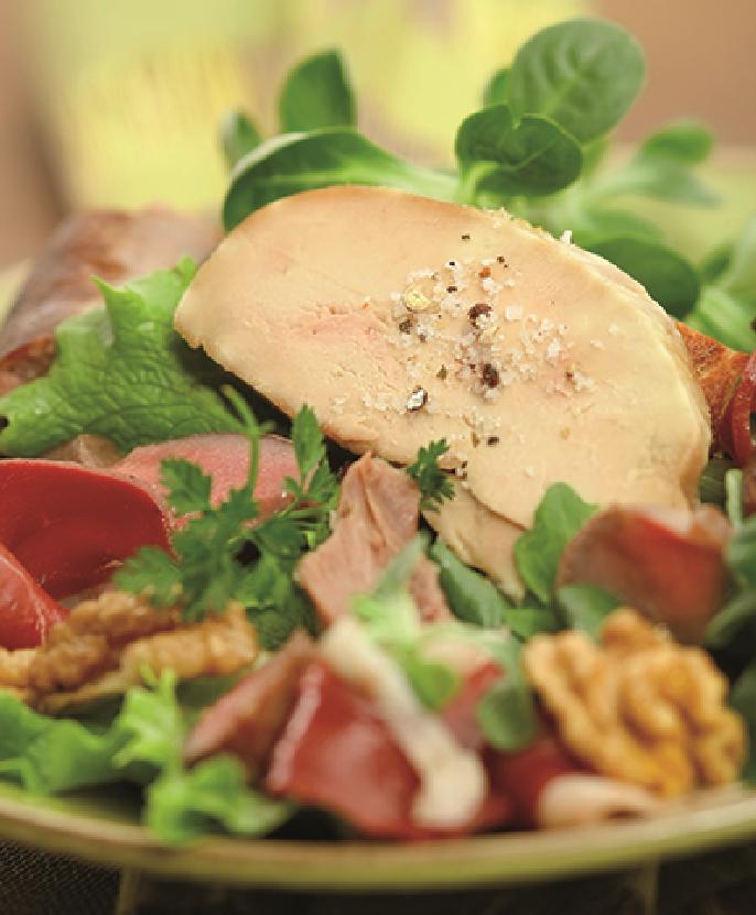 acheter du foie gras pour salade gersoise