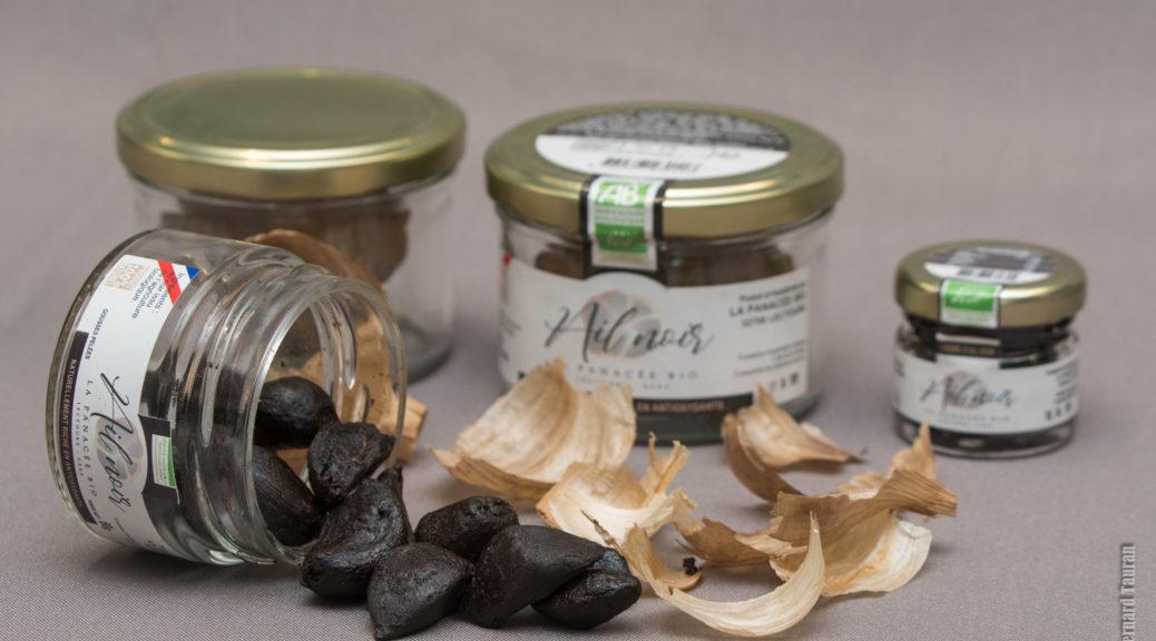 l'ail noir de Jérémy Vermaele (Panacée bio)¡ en vente aux Fleurons de Lomagne