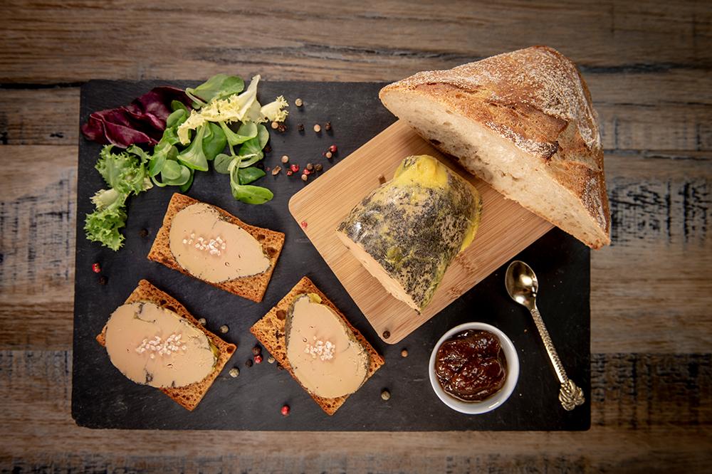 foie gras de canard IGP Gers pour l'apéritif