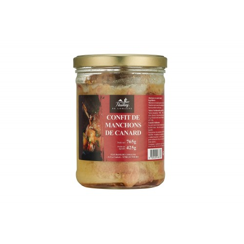 Drumsticks of duck confit - 765 grams jar