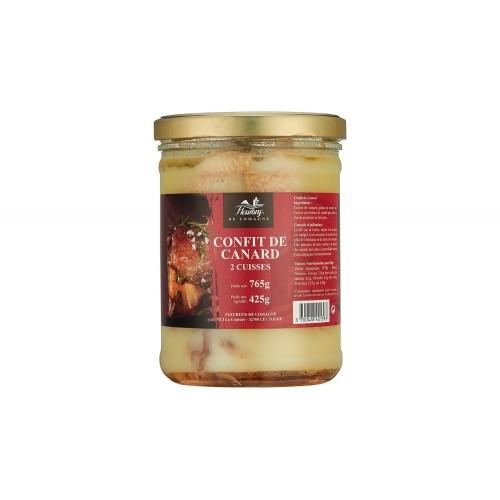 Confit of duck - 2 legs - 765 grams (jar)