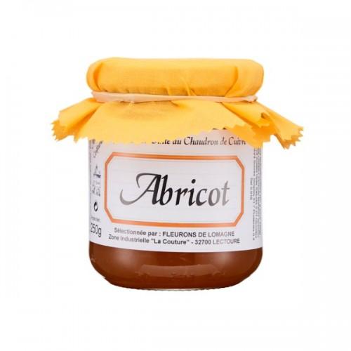 Confiture d'abricots 250g (bocal)