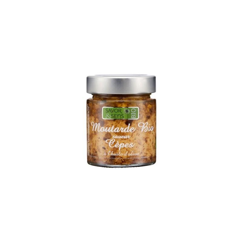 Moutarde aux cèpes Bio 130g (ref:7302)