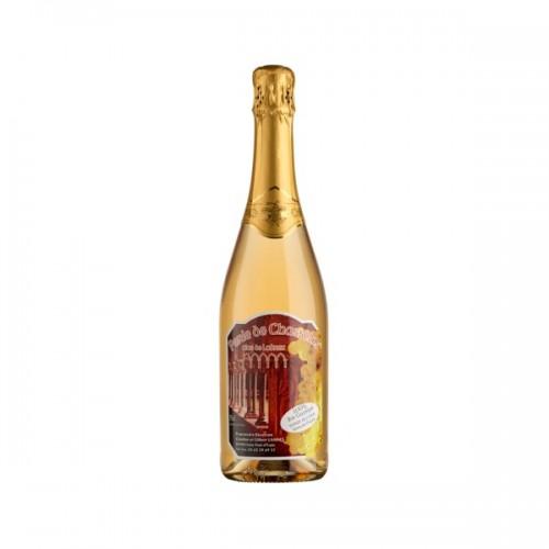 Perle de Chasselas gazéifié sans alcool 75 cl (bouteille)