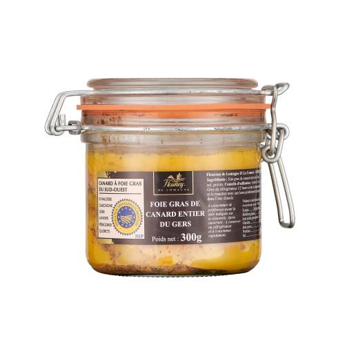 Foie gras de canard entier IGP Gers 300g (bocal)