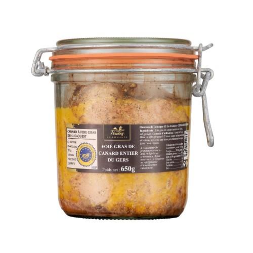 Foie gras de canard entier - IGP Gers - 650g
