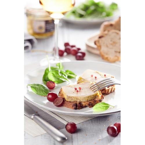 Foie gras de canard entier IGP Gers 650g (bocal)