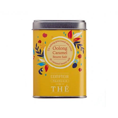 Thé Oolong caramel beurre salé 80g (Boîte Métal)