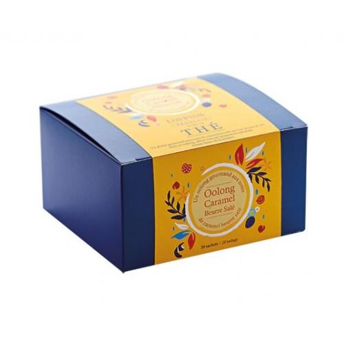 Thé Oolong caramel beurre salé (Boîte de 20 sachets)