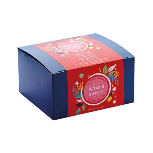 Thé Rooibos  African Sweety  (Boîte 20 sachets)