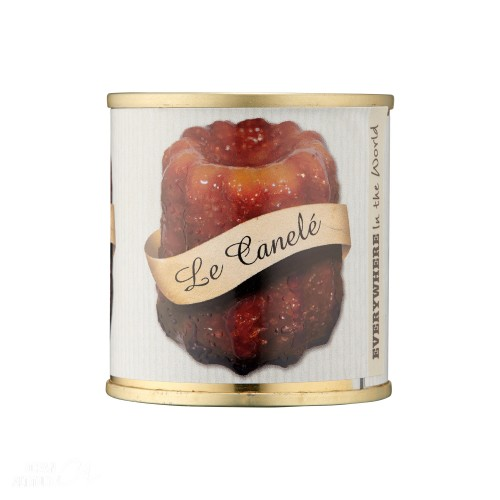 Canelé de Bordeaux individuel 90g (boîte)