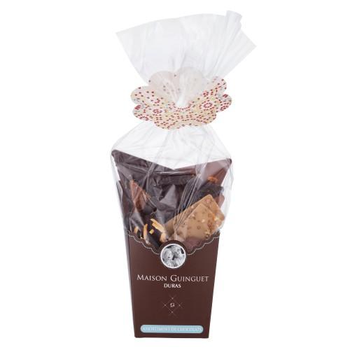 """Chocolats fins """"Sélection Fleurons"""" assortiment 250g (boitasac)"""
