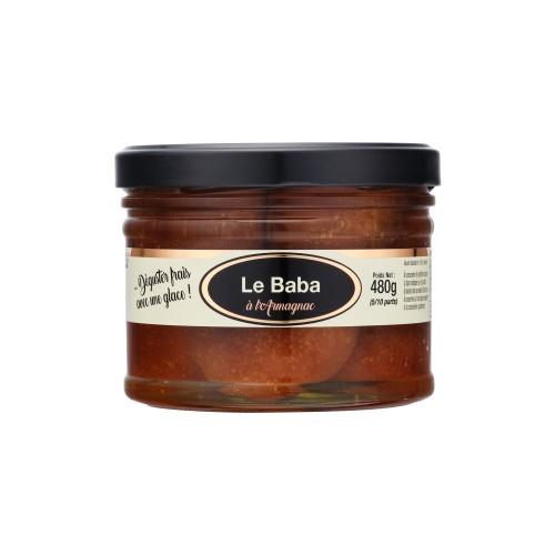 Le Baba à l'Armagnac 480g (bocal)