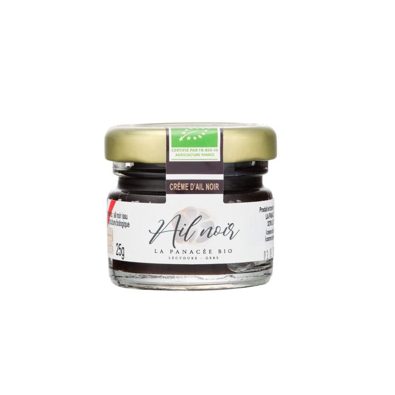 Crème d'ail noir Bio 25g (bocal)