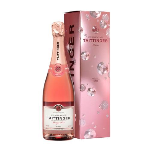 """Champagne Taittinger """"Prestige Rosé Brut"""" 75 cl (étui)"""