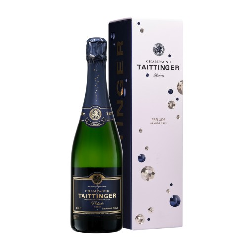 "Champagne Taittinger ""Prélude Grand Cru"" 75 cl (étui)"