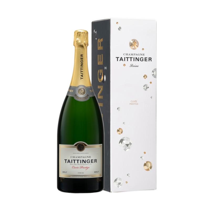 """Champagne Taittinger """"Magnum Prestige Brut"""" 150 cl (étui)"""