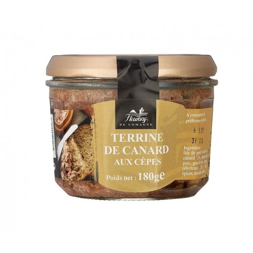 Terrine of duck with ceps - 90 grams (jar)