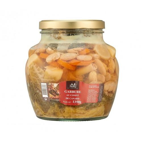 Duck confit garbure  - 1350 grams jar