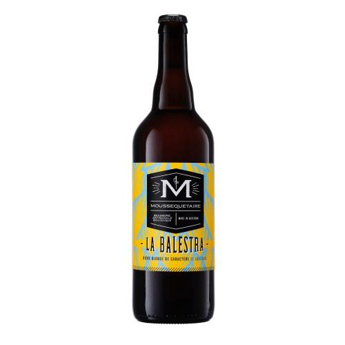 """Bière blonde """"La Balestra"""" BIO 75cl (bouteille)"""