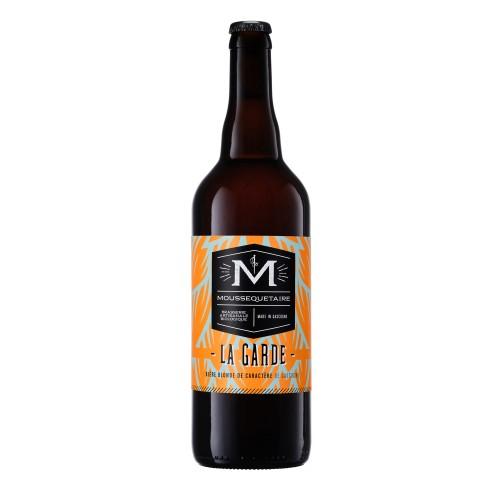 """Bière blonde """"La Garde"""" BIO 75cl (bouteille)"""