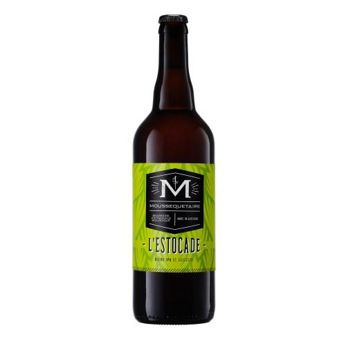 """Bière indian  """"L'Estocade"""" BIO 75cl (bouteille)"""