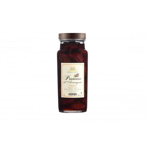 Pruneaux à l'Armagnac 16° 1 litre (bocal avec étui)