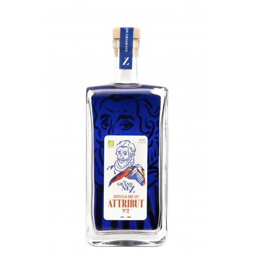 """Artisanal Dry Gin """"Attribut n°2"""" BIO 50cl (bouteille)"""