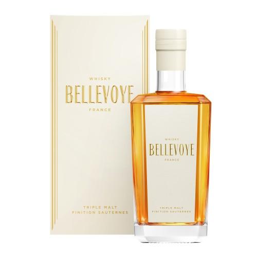 "Whisky de France ""Bellevoye - Blanc"" 40° 70cl"