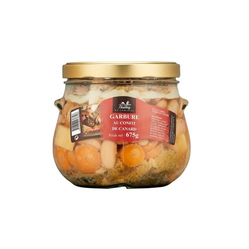 Duck confit garbure  - 675 grams jar