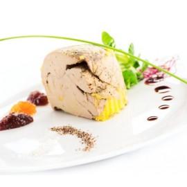 Bloc of duck foie gras